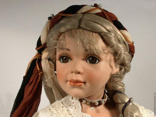 Коллекционные куклы ручной работы. Ярмарка Мастеров - ручная работа. Купить Коллекционная фарфоровая кукла с мароте  Лимитированный выпуск. Handmade.