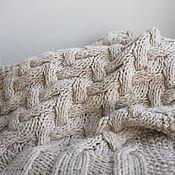 Аксессуары handmade. Livemaster - original item Warm soft scarf, great Alpaca/Merino/silk. Handmade.