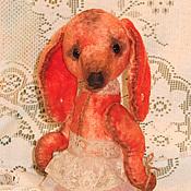 Куклы и игрушки ручной работы. Ярмарка Мастеров - ручная работа Рыжая Соня на прогулке с другом Мишуткой. Handmade.