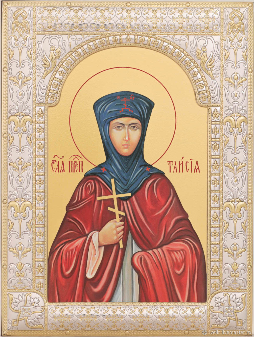Taisiya the Egyptian monk (18h24cm), Icons, Moscow,  Фото №1
