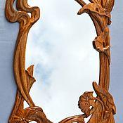 Для дома и интерьера ручной работы. Ярмарка Мастеров - ручная работа Зеркало настенное №1. Handmade.