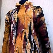 """Одежда ручной работы. Ярмарка Мастеров - ручная работа жакет """"Лизетта"""", войлок+шелк. Handmade."""