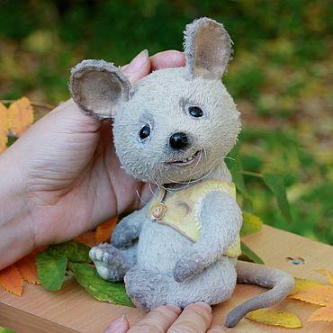 Куклы и игрушки ручной работы. Ярмарка Мастеров - ручная работа Маус. Handmade.