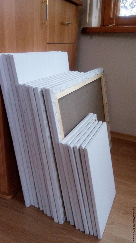 Canvas on stretcher dimensions 50/60; 50/70, Drawing tools, Krasnodar,  Фото №1