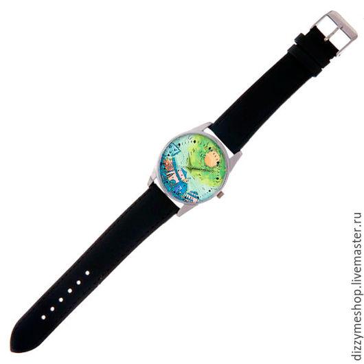 """Часы ручной работы. Ярмарка Мастеров - ручная работа. Купить Часы наручные """"2 Берега Бирюзовый"""". Handmade. Бирюзовый"""