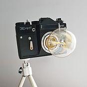 Для дома и интерьера handmade. Livemaster - original item Table lamp from the Zenith camera. A gift for the New year!. Handmade.