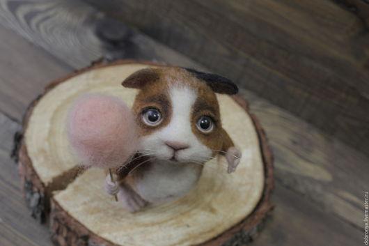 Игрушки животные, ручной работы. Ярмарка Мастеров - ручная работа. Купить Свинка Фая. Handmade. Комбинированный, подарок на день рождения