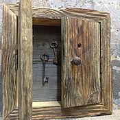 Ключницы ручной работы. Ярмарка Мастеров - ручная работа Ключница из старой доски. Handmade.