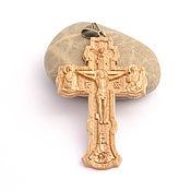 handmade. Livemaster - original item Pectoral Orthodox cross. Handmade.