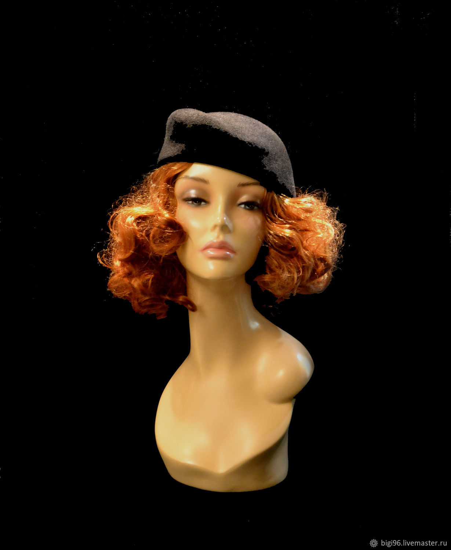 Hat 'Velvet night', Hats1, Moscow,  Фото №1