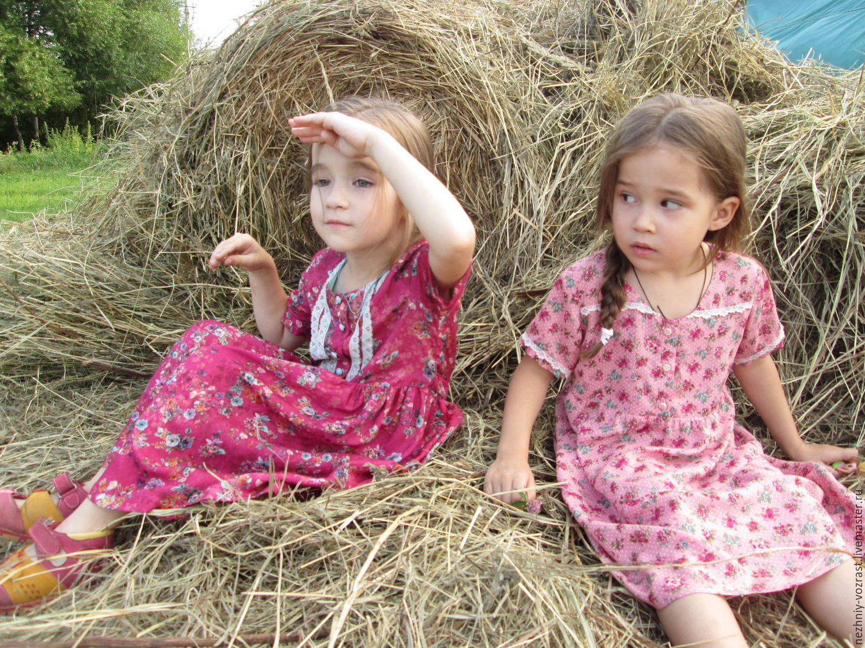 Two dresses 'rural Nov', Dresses, Voskresensk,  Фото №1