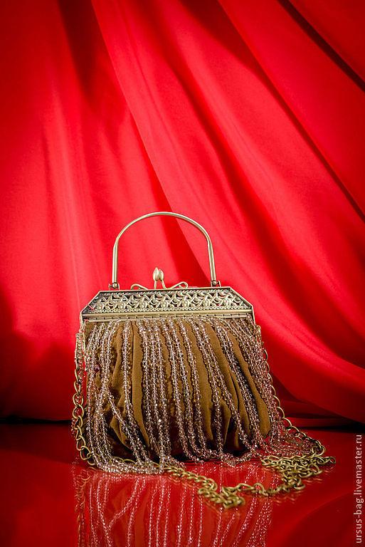 Женские сумки ручной работы. Ярмарка Мастеров - ручная работа. Купить U00021. Handmade. Коричневый, необычный дизайн, тм ursus