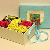 """Цветы и флористика ручной работы. Ярмарка Мастеров - ручная работа """"Весна"""" Свит бокс / Sweet Box. Handmade."""