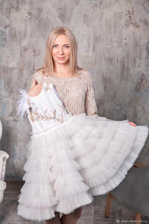 Нарядное платье для девочки GOLDEN CANARY