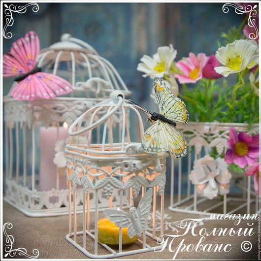 Материалы для флористики ручной работы. Ярмарка Мастеров - ручная работа. Купить Комплект из 3-х квадратных клеток Розы и бабочки 46641 белый глянец. Handmade.
