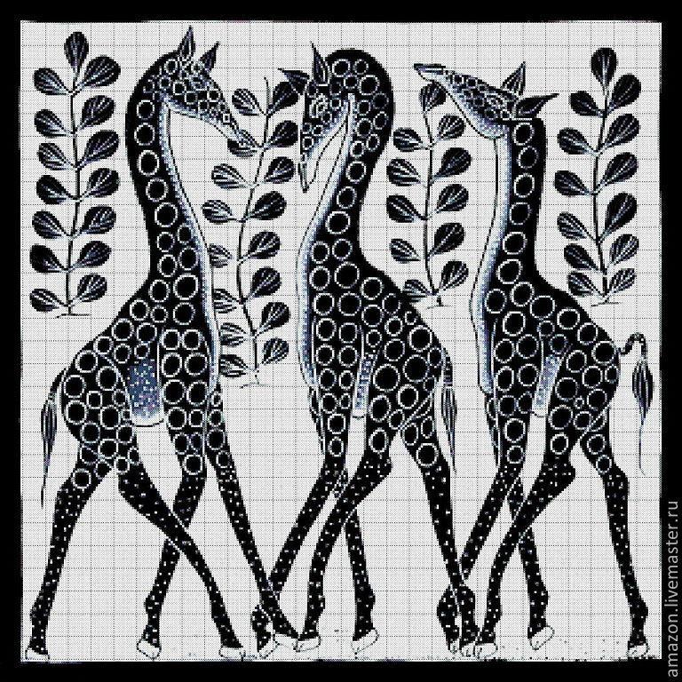 Африканские мотивы вышивка бисером