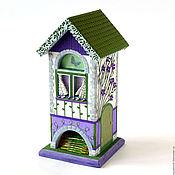"""Для дома и интерьера ручной работы. Ярмарка Мастеров - ручная работа Чайный домик """"Прованс"""" Полимерная глина. Handmade."""