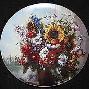 Винтаж handmade. Livemaster - original item Magnificent series of plates