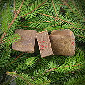 Мыло ручной работы. Ярмарка Мастеров - ручная работа Мыло Хвойное, натуральное мыло с нуля. Handmade.