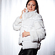 Coat white. Fur Coats. Lissa. Online shopping on My Livemaster.  Фото №2