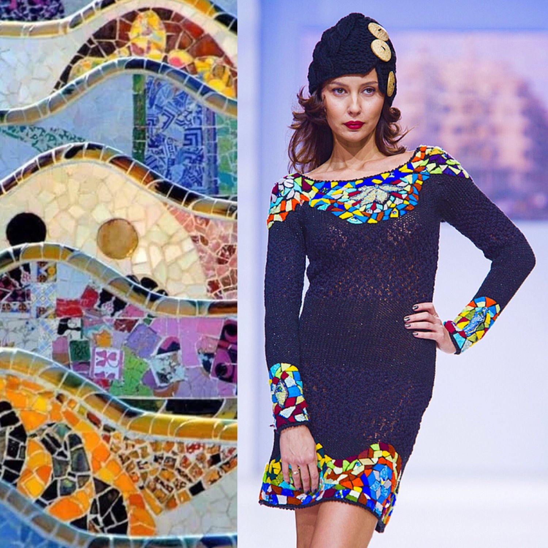 """Платье """"Мозаика Гауди"""", Платья, Москва, Фото №1"""