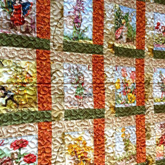 Текстиль, ковры ручной работы. Ярмарка Мастеров - ручная работа. Купить Лоскутное  покрывало Рыжие феи. Handmade. Лоскутное одеяло