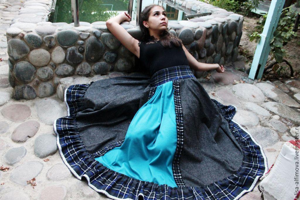 Stylish straukasa skirt 'Element: air-water' warm floor, Skirts, Tashkent,  Фото №1