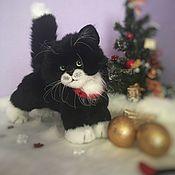 Мягкие игрушки ручной работы. Ярмарка Мастеров - ручная работа Игрушка реалистичная из меха котенок. Handmade.