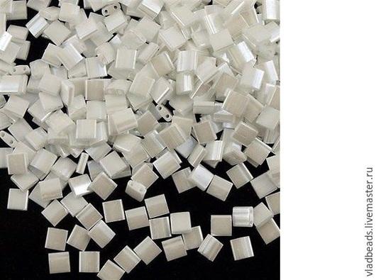 Для украшений ручной работы. Ярмарка Мастеров - ручная работа. Купить Бисер Tila 420 (White Pearl). Handmade.