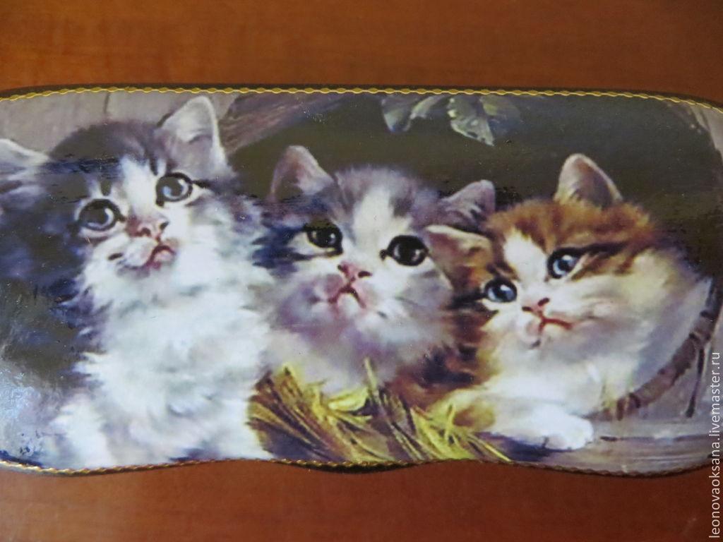 """очечник """"Три котенка"""""""