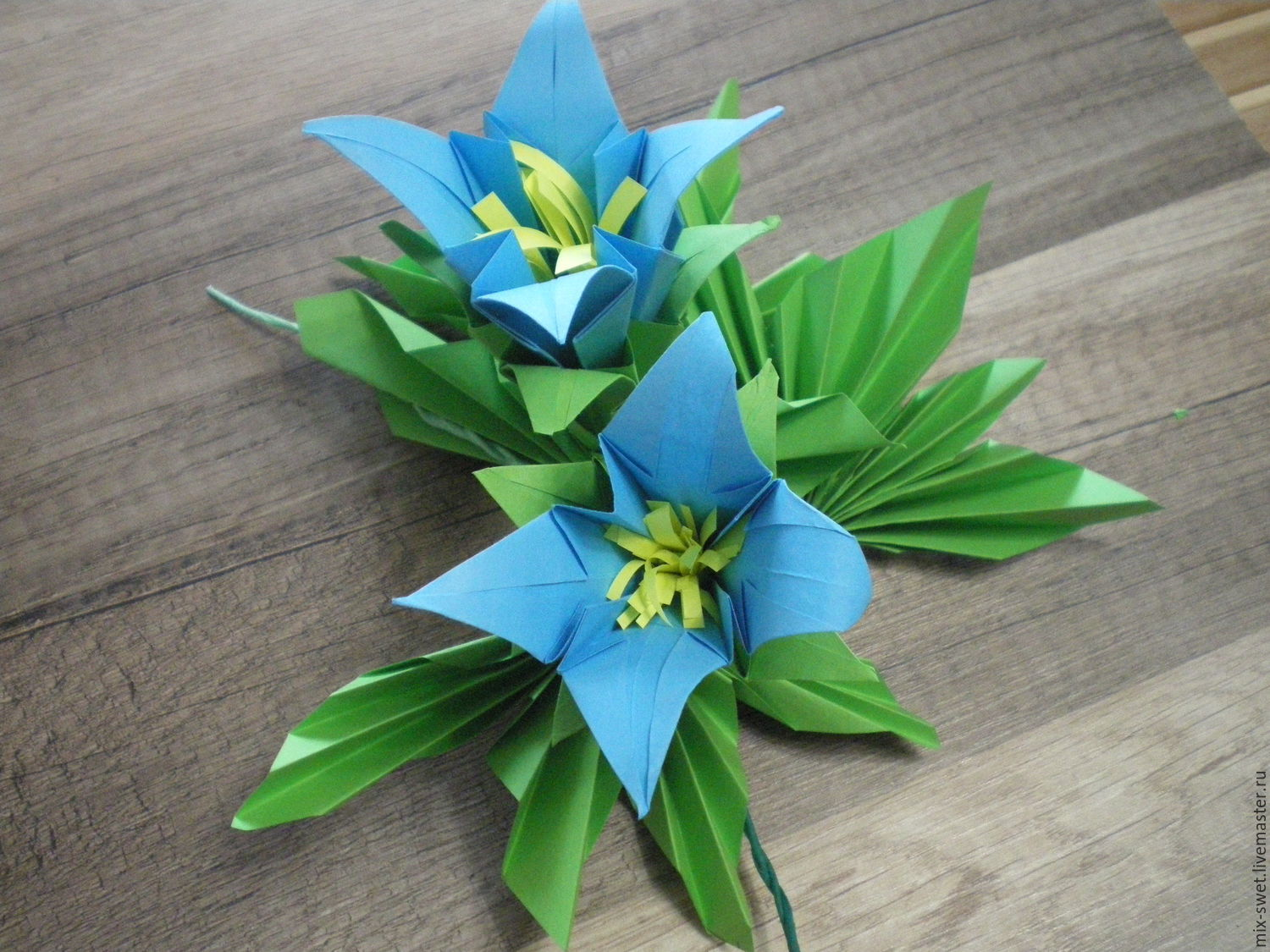 Master Class Flowers Out Of Paper Shop Online On Livemaster With