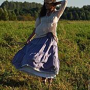 "Одежда handmade. Livemaster - original item Skirt ""Somewhere on the edge of the earth ..."". Handmade."
