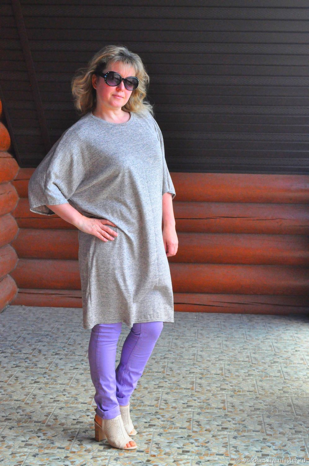 Tunic dress knitwear. Free Style, Dresses, Moscow,  Фото №1