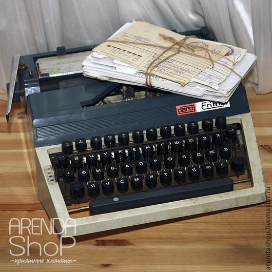 Реставрация. Ярмарка Мастеров - ручная работа. Купить Печатная машинка. Handmade. Печатная продукция, ретро стиль, свадьба 2015, фотография