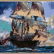 Картины и панно handmade. Livemaster - original item Tapestry beaded. Caribbean.. Handmade.
