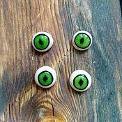 Материалы для творчества handmade. Livemaster - original item Eyes (accessories) to create toys. Handmade.
