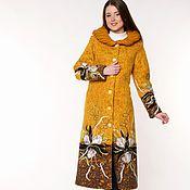 Одежда ручной работы. Ярмарка Мастеров - ручная работа Пальто весеннее Солнечный Ирис. Handmade.