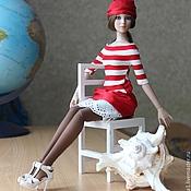 """Куклы и игрушки ручной работы. Ярмарка Мастеров - ручная работа Комплект для Тоннер """"Морской круиз"""". Handmade."""