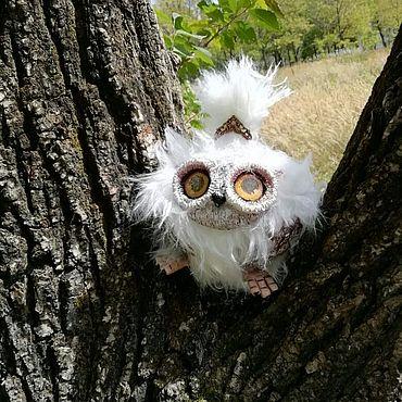 Dolls & toys handmade. Livemaster - original item White Owl. Handmade.