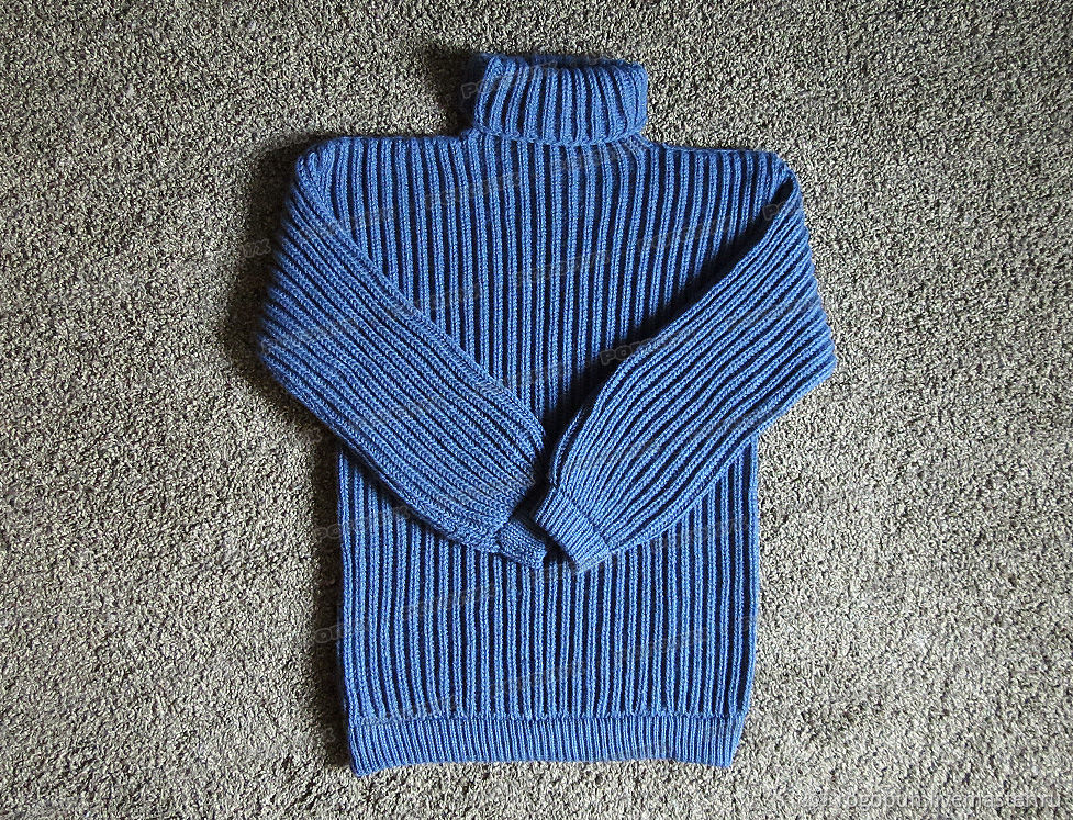 Knitted denim sweater made of acrylic (No. №349), Mens sweaters, Nalchik,  Фото №1