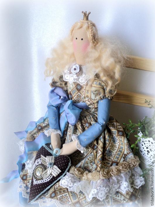 Куклы Тильды ручной работы. Ярмарка Мастеров - ручная работа. Купить Кукла в стиле Тильда. Лизелотта - хранительница Времени.. Handmade.