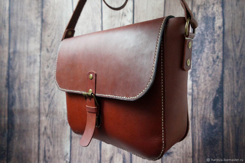 ae6b8bb9edc5 Женские сумки ручной работы. Ярмарка Мастеров - ручная работа. Купить  Кожаная сумка из натуральной ...
