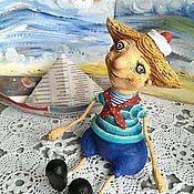 Куклы и игрушки ручной работы. Ярмарка Мастеров - ручная работа Моряк ,красивый сам собою)))). Handmade.