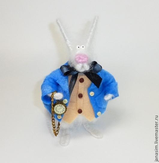 Игрушки животные, ручной работы. Ярмарка Мастеров - ручная работа. Купить Белый Кролик. Handmade. Белый, кролики, фетр