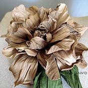 Украшения handmade. Livemaster - original item The colors of the skin.Brooch-flower
