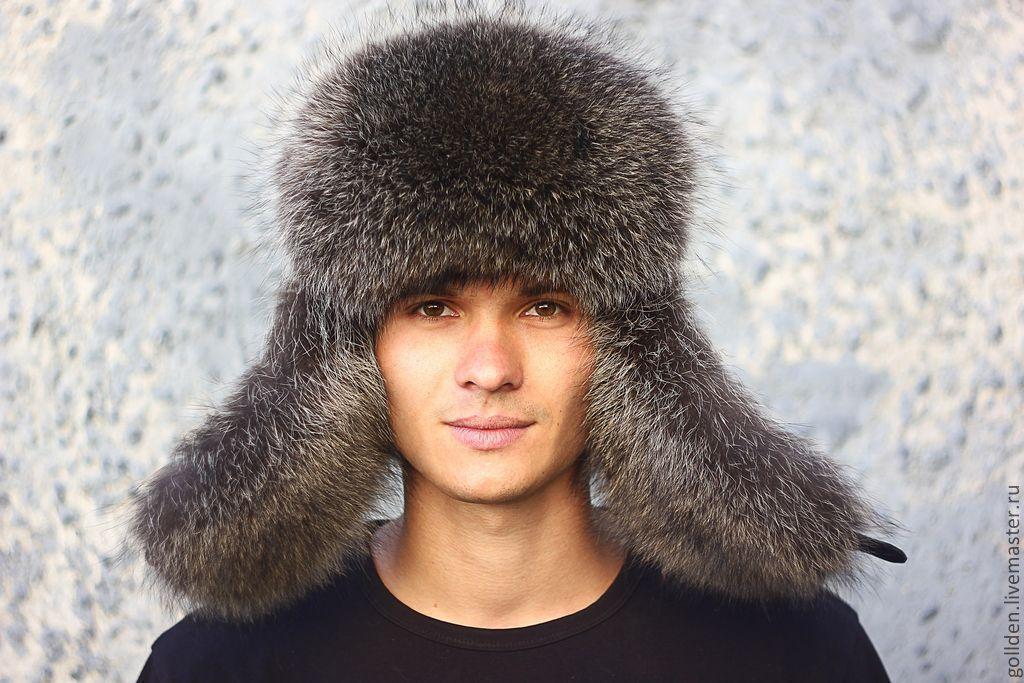 Меховая мужская шапка из натурального меха своими руками