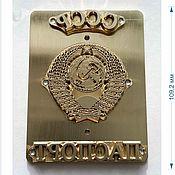 Материалы для творчества handmade. Livemaster - original item SET FOR STAMPING THE COVER OF THE PASSPORT OF THE USSR. Handmade.