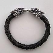 Украшения handmade. Livemaster - original item Sterling silver dragon bracelet. Handmade.
