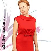 "Одежда handmade. Livemaster - original item Knitted dress""Simplicity and sophistication"". Handmade."