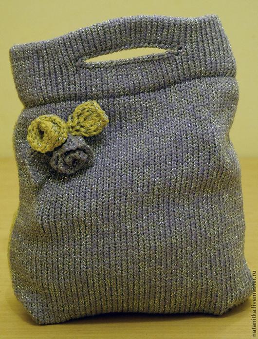Женские сумки ручной работы. Ярмарка Мастеров - ручная работа. Купить Летняя вязанная сумка. Handmade. Желтый, летняя сумка